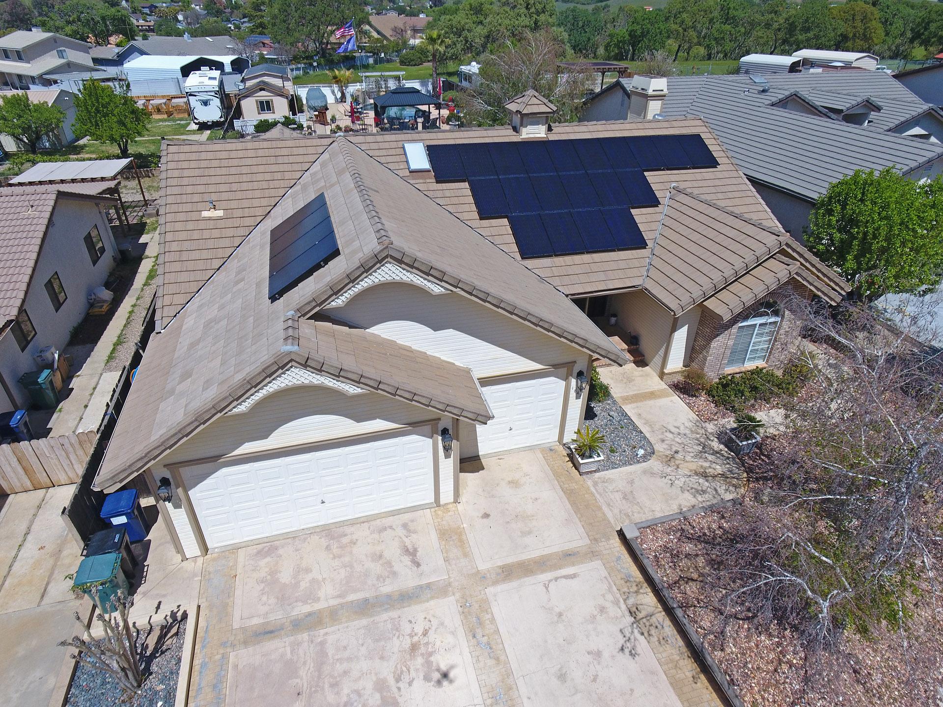 residential roof mount testimonial